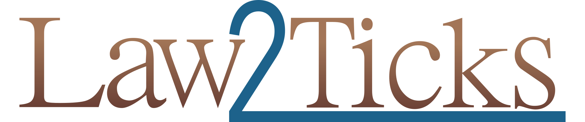 Law 2 Ticks Menu logo